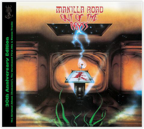 CD MANILLA ROAD Out Of The Abyss (édition digipack)