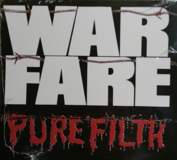 CD WARFARE Pure Filth (édition digipack)