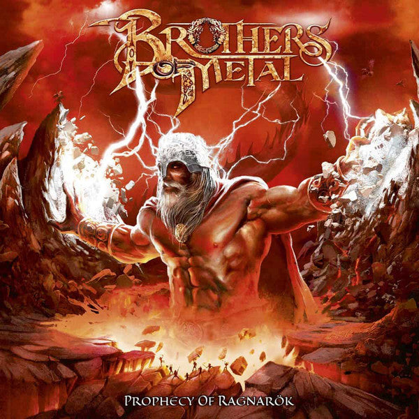 CD BROTHERS OF METAL Prophecy Of Ragnarök (édition digipack)