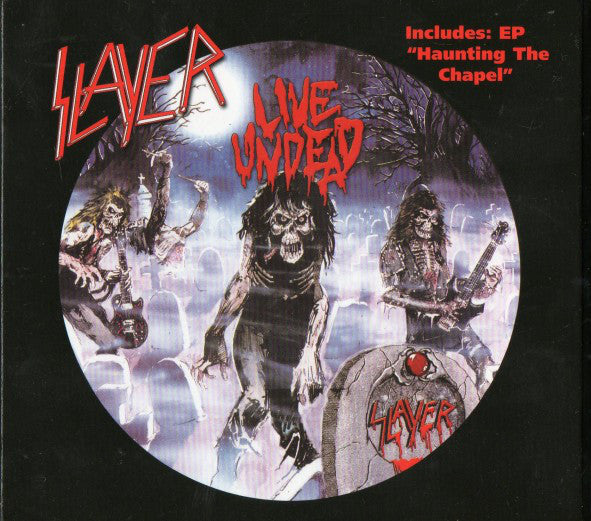CD SLAYER Live Undead + Haunting The Chapel [EP] (édition digipack)
