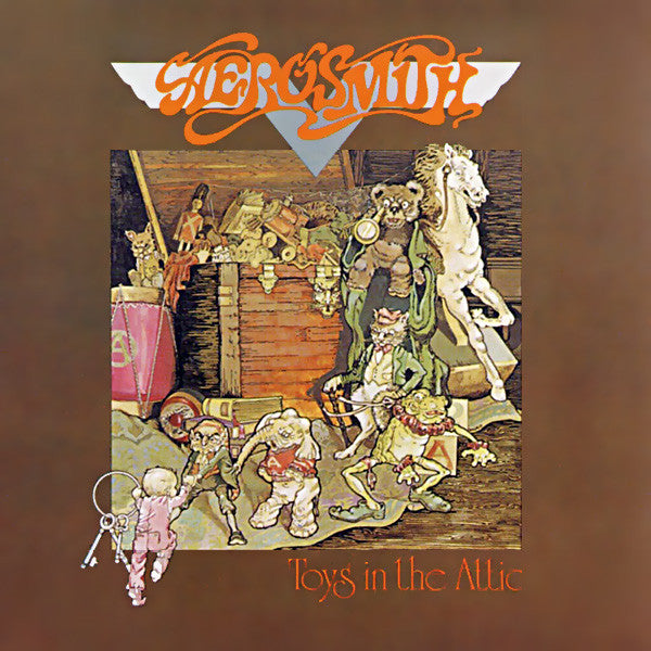 CD AEROSMITH Toys In The Attic