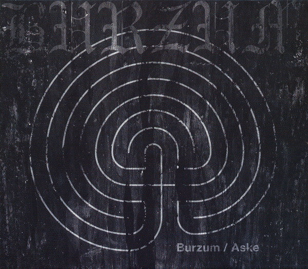 CD BURZUM Burzum / Aske (édition slipcase)