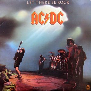 CD AC/DC Let There Be Rock (édition digipack)