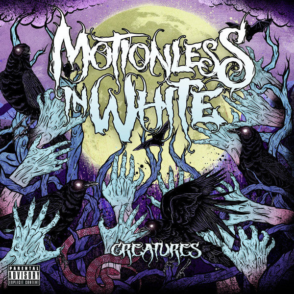 CD MOTIONLESS IN WHITE Creatures