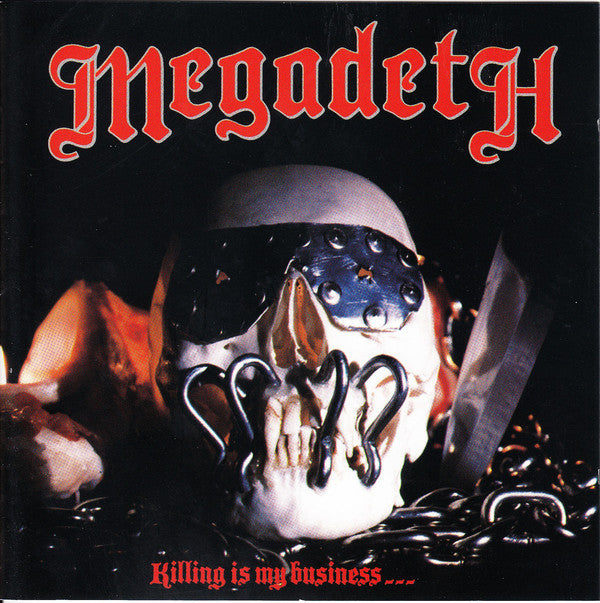 CD MEGADETH Killing Is My Business... And Business Is Good!
