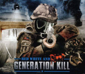 CD GENERATION KILL Red White And Blood
