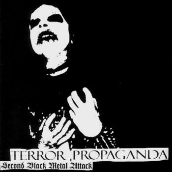 CD CRAFT Terror, Propaganda - Second Black Metal Attack (édition digipack)