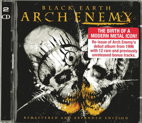 CD ARCH ENEMY Black Earth (édition 2CD)