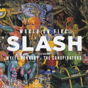 CD SLASH AND MYLES KENNEDY World On Fire (édition digipack)