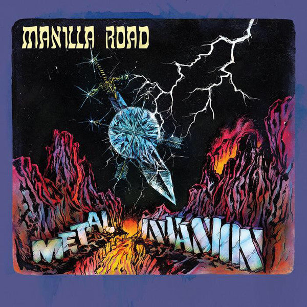 CD MANILLA ROAD Metal / Invasion (édition 2CD)