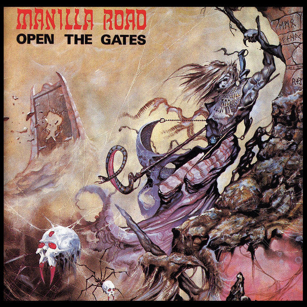 CD MANILLA ROAD Open The Gates (édition digipack)
