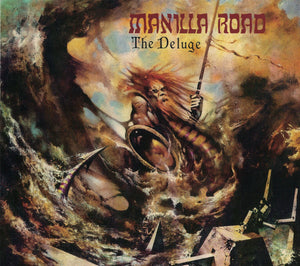 CD MANILLA ROAD The Deluge (édition digipack)