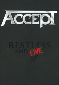 BLU-RAY ACCEPT Restless And Live (édition digibook sous étui cartonné BluRay+2CD)