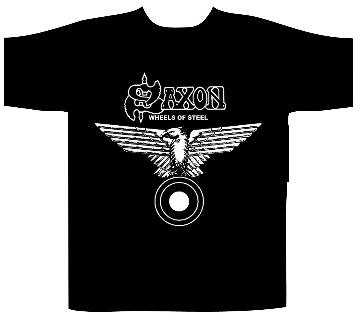 T-SHIRT SAXON Wheels Of Steel