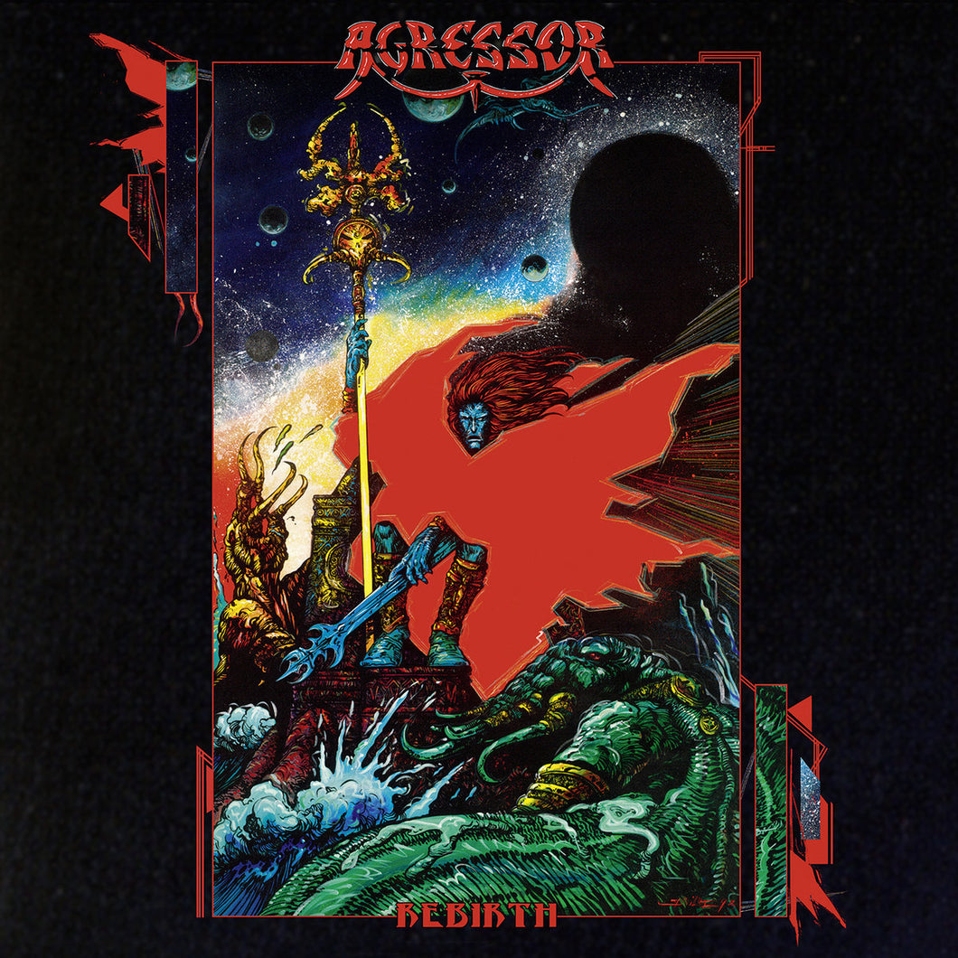CD AGRESSOR Rebirth (édition digipack 2CD)