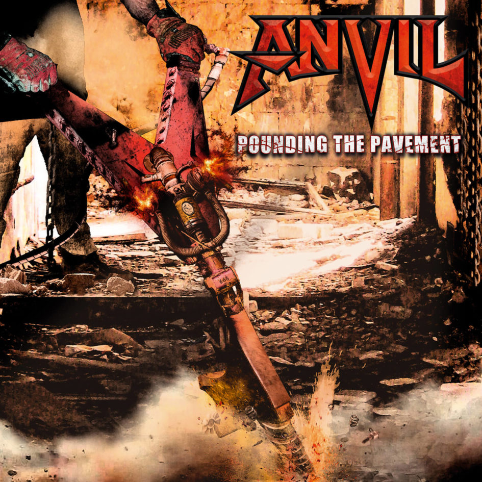 CD ANVIL Pounding The Pavement (édition digipack)