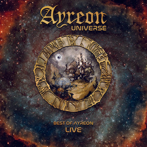 CD AYREON Universe Best Of Live (2CD)