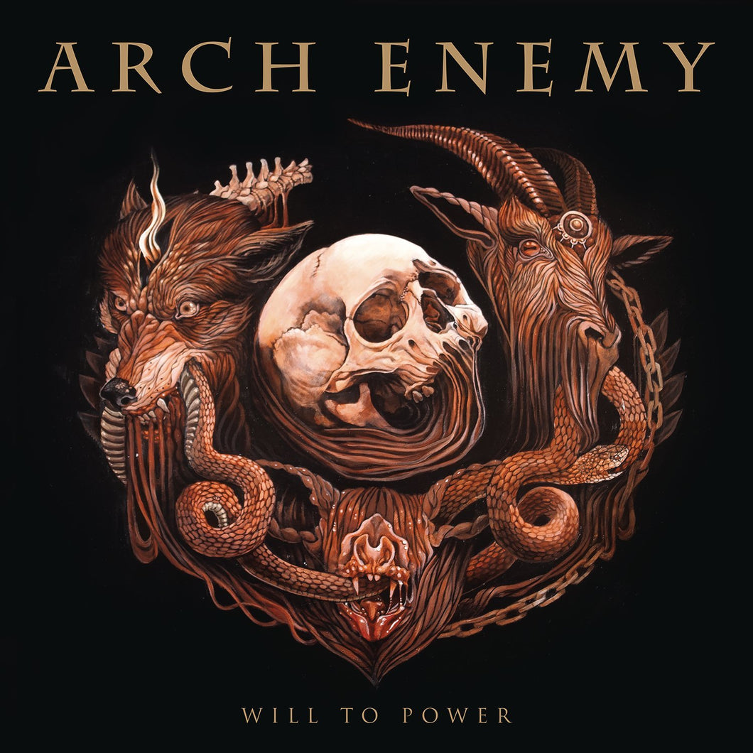LP + CD ARCH ENEMY Will To Power