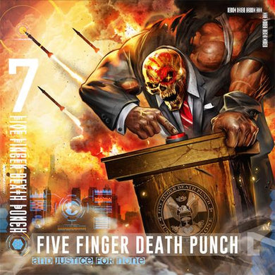 CD FIVE FINGER DEATH PUNCH  And Justice For None