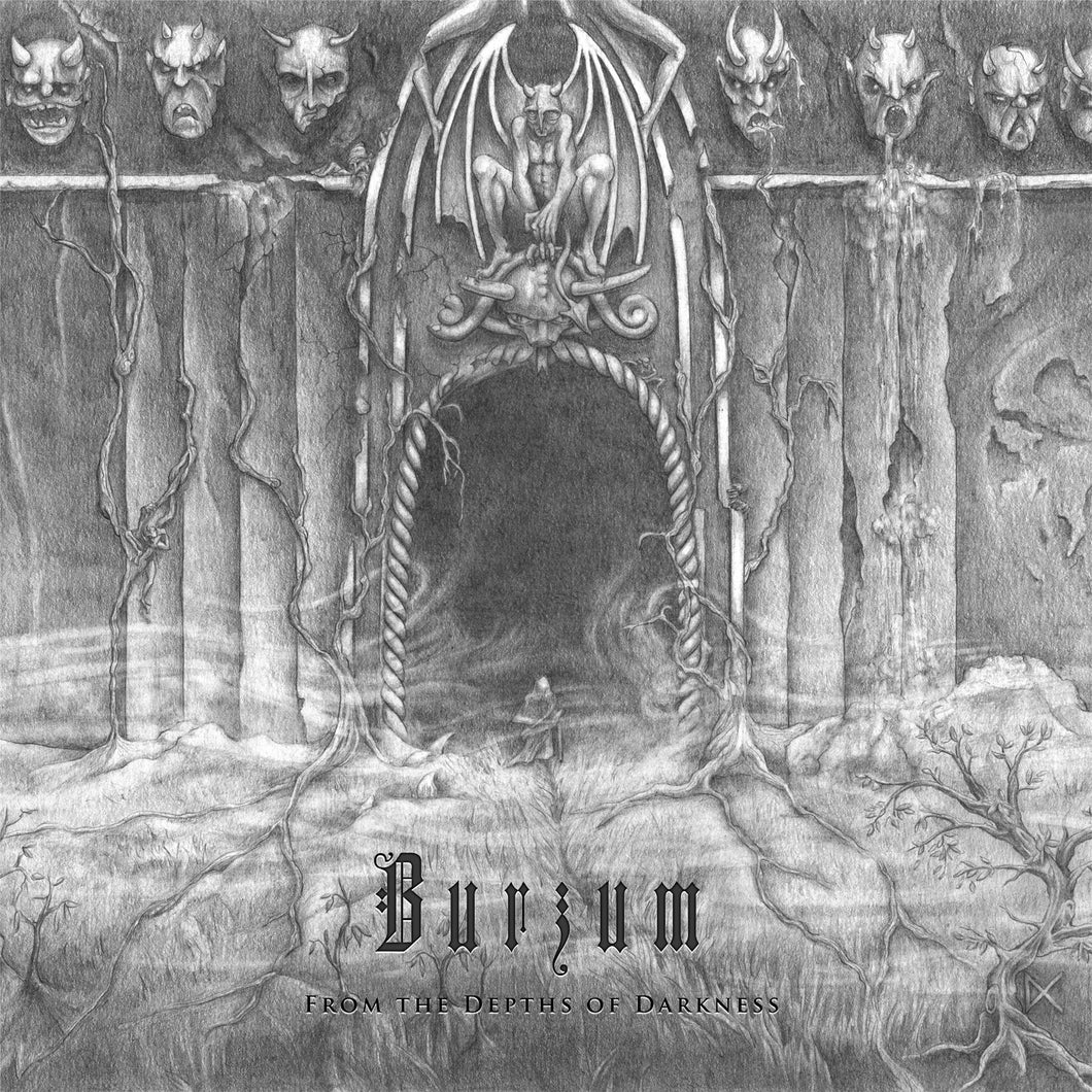 CD BURZUM From The Depths Of Darkness [Compilation] (édition digipack)