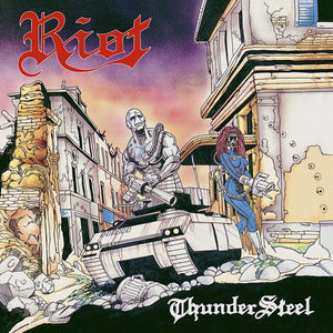 CD RIOT Thundersteel (30th Anniversary Edition) (édition digipack CD+DVD)
