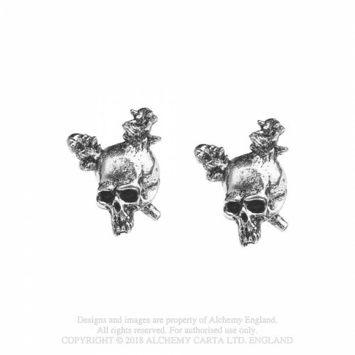 Boucles d'Oreilles Alchemy England - Metallica Damage Inc.