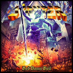 CD STRYPER God Damn Evil