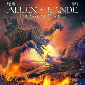 CD ALLEN LANDE The Great Divide (édition digipack)