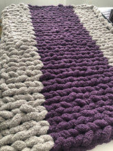 Load image into Gallery viewer, Healing Hand, Chunky Knit Wheelchair Blankets
