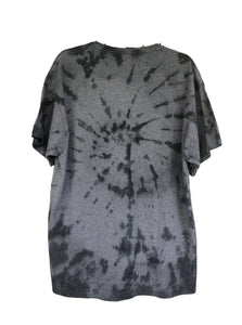 Grey and Black Colony BMX Brand Tie-Dyed T-Shirt - Adult X-Large