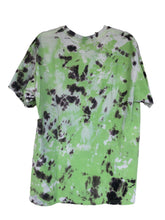 Load image into Gallery viewer, Green Tie-Dyed T-Shirt - Adult Large