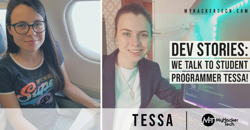We Talk to Student Programmer Tessa! Developer web developer
