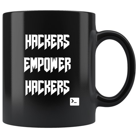 Hackers empower hackers - Mug