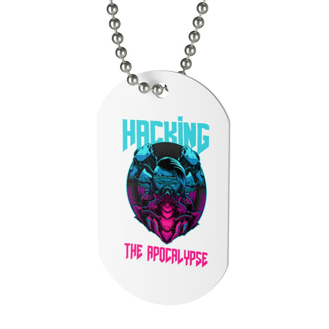 Hacking the apocalypse  - Dog Tag
