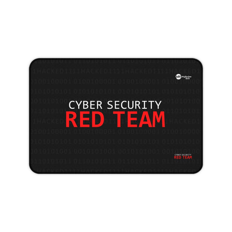 Cyber Security Red Team - Desk Mat