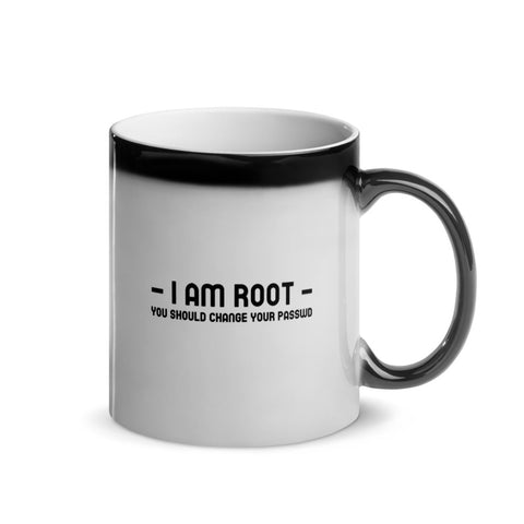 i am root - Glossy Magic Mug
