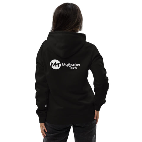 MyHackerTech Classic - Unisex pullover hoodie (with back design)