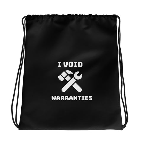I void warranties - Drawstring bag (black)