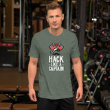 Hack like a captain - Short-Sleeve Unisex T-Shirt