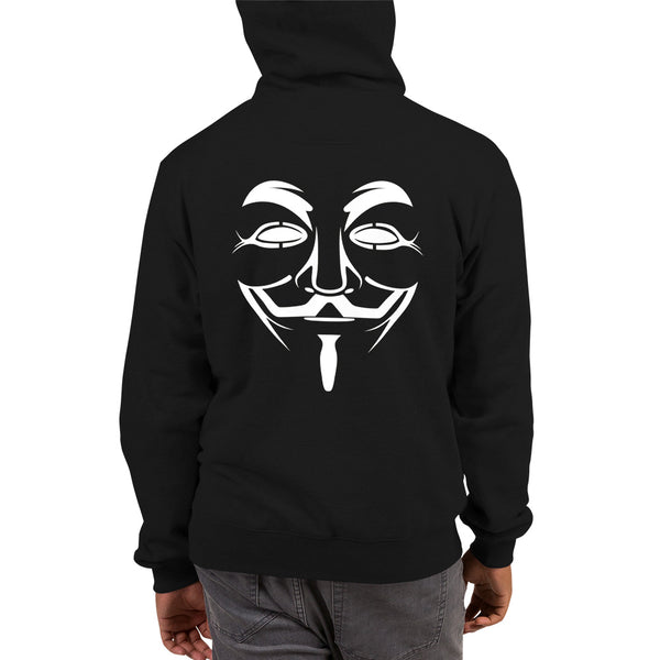 Anonymous - Champion Hoodie (black text)