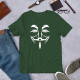 Anonymous - Short-Sleeve Unisex T-Shirt (white text)