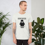 Support your local hacker - Short-Sleeve Unisex T-Shirt
