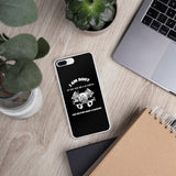I Am Root If You See Me Laughing You Better Have A Backup - iPhone Case (white text)