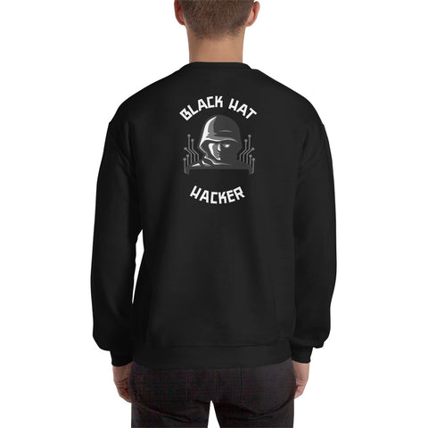 Black Hat Hacker - Unisex Sweatshirt