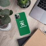 I void warranties - iPhone Case (green)