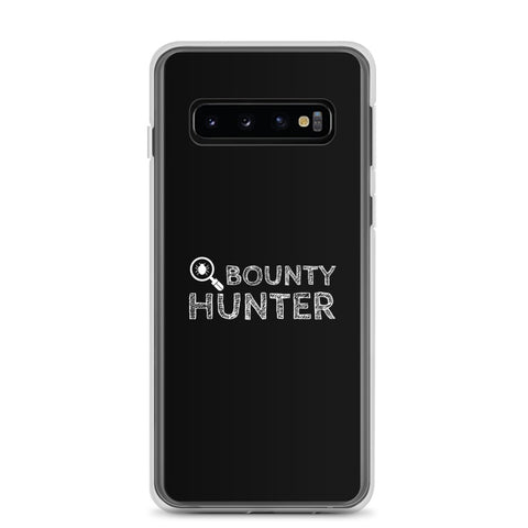 Bug bounty hunter - Samsung Case (white text)