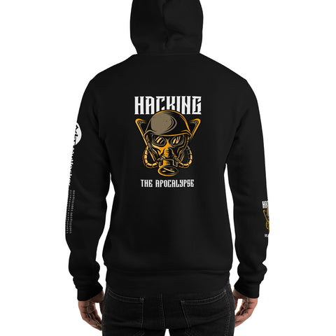 Hacking the apocalypse  - Unisex Hoodie (with all sides design)