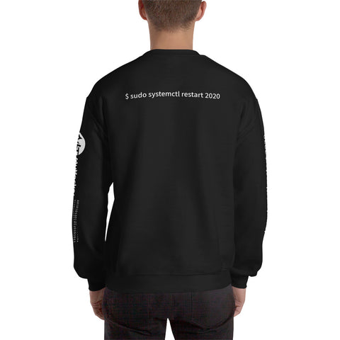 $ sudo systemctl restart 2020 - Unisex Sweatshirt (with all sides design )