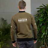 0100110010101  Hack3r - Bomber Jacket