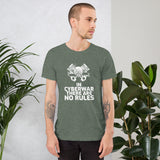 In cyberwar, there are no rules - Short-Sleeve Unisex T-Shirt